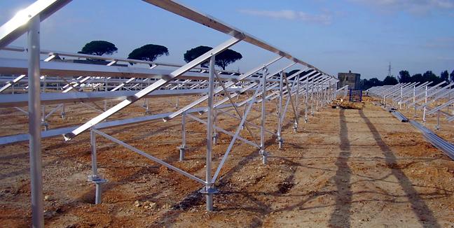 Image result for solar ground screws